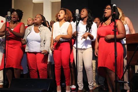 university gospel choir black history month concert