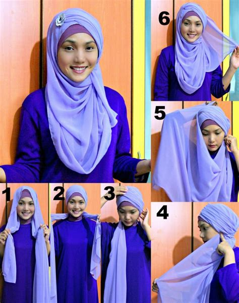 modern  simple hijab styles unique viral
