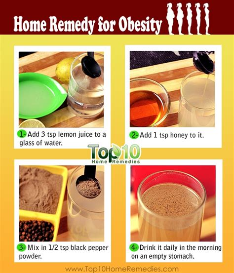 Home Remedies For Obesity & Weight Loss  Top 10 Home Remedies