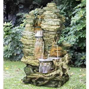 Fontaine Cascade Bassin : fontaines de jardin comparez les prix pour ~ Premium-room.com Idées de Décoration