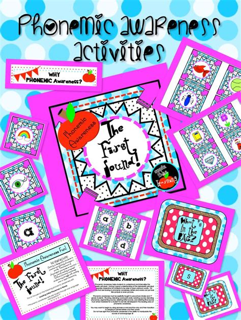 phonological awareness activities preschool phonemic awareness isolating initial sounds in words 31610