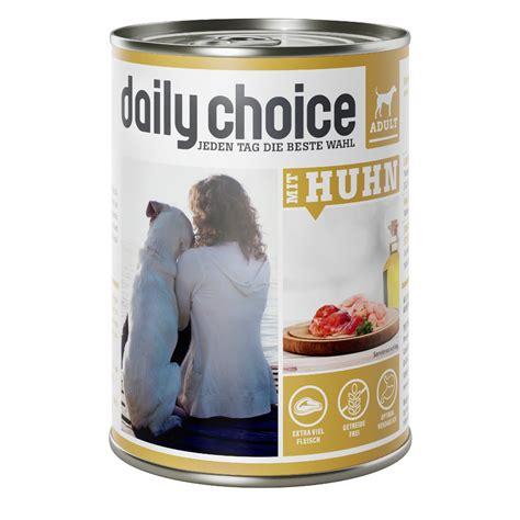 daily choice nassfutter mit huhn fleischmenue