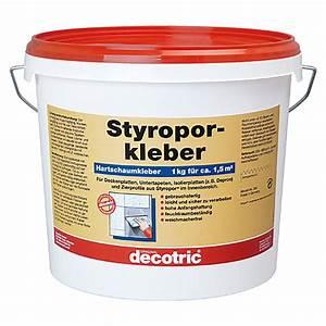 Kleber Für Styropor : decotric styropor hartschaum kleber 8 kg bauhaus ~ Frokenaadalensverden.com Haus und Dekorationen