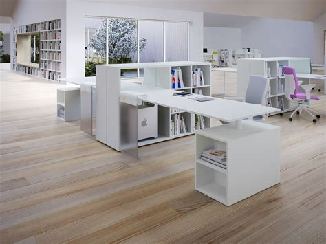 contemporary bureau desk white modern office desk