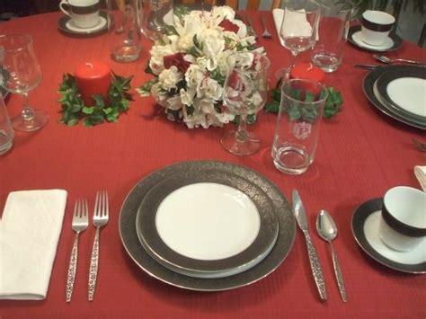 set  formal dinner table  steps  pictures