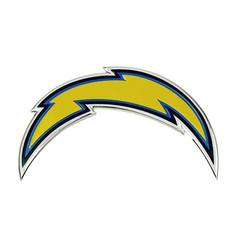 san diego chargers colors san diego chargers color emblem car or truck decal team