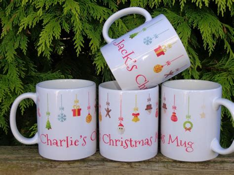 Personalised Baubles Christmas Mugs Christmas Gift Ifeas Fun Ways To Give Money As A For The Worst Gifts Ever Compassion International Guys Creative Corporate Cute Crafts Free 2014