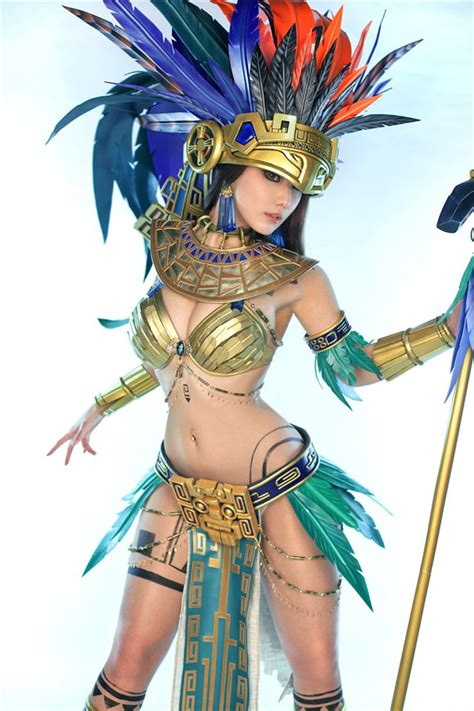 nude cosplay babes sexy aztec princess cosplay