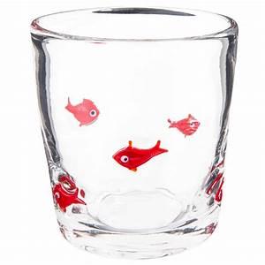 Verres à Vin Maison Du Monde : gobelet motif poissons rouges en verre maisons du monde ~ Teatrodelosmanantiales.com Idées de Décoration
