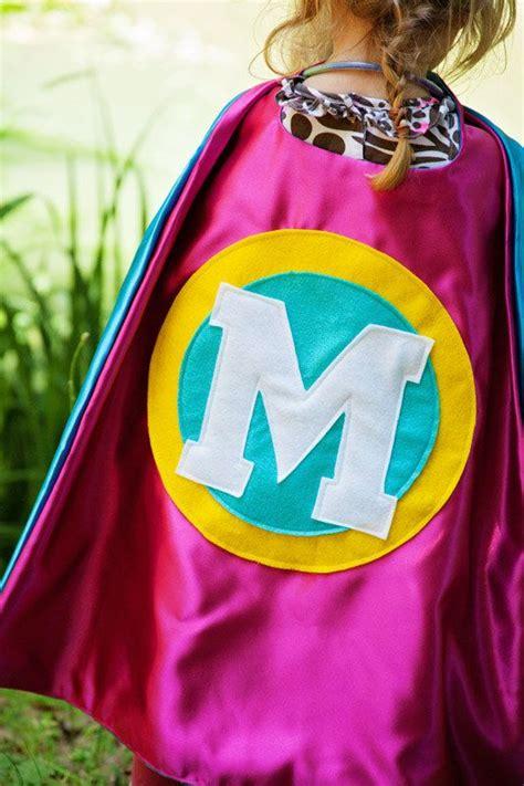 girl superhero party custom cape preschool girl cape