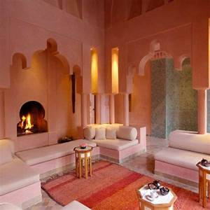 Warme Farben Wohnzimmer : 22 marokkanische wohnzimmer deko ideen einrichtungsstil aus dem orient ~ Buech-reservation.com Haus und Dekorationen