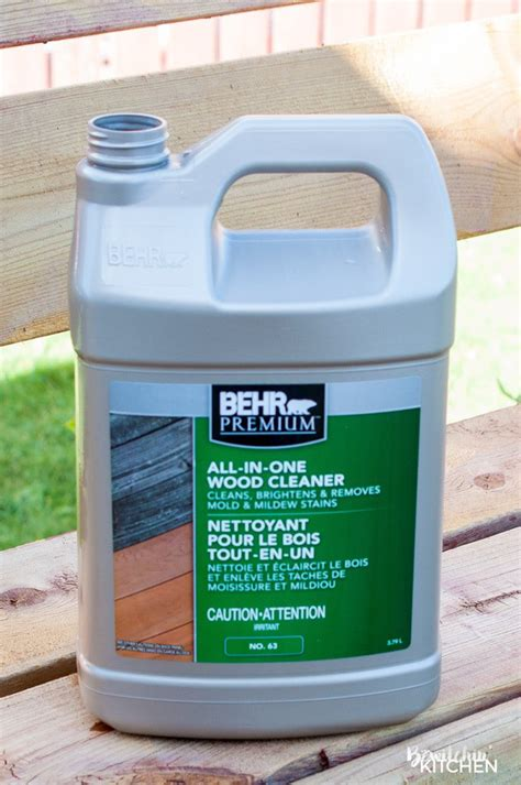 Wood Cleaner For Deck