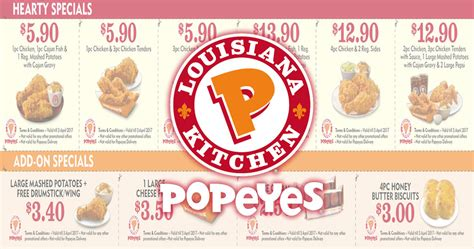 Popeyes Deals Monday - Gift Ftempo