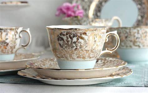 Classic Colclough Bone China Tea Cup, Saucer And Plate