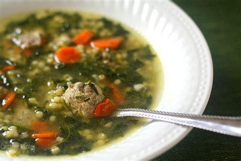 Italian Wedding Soup (dinner For Two
