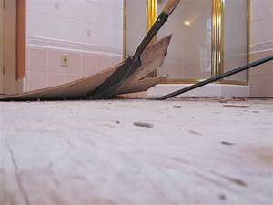 How to remove a tile floor and underlayment a concord for How to remove cutback adhesive from concrete floor
