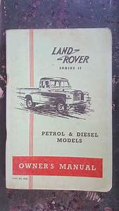 Land Rover Owners Manual