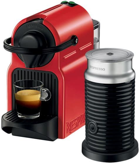 Nespresso Uae by Nespresso C40bu Re Inissia Coffee Machine With Aeroccino