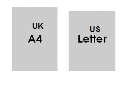 letter size vs a4 us letter size card american a4 mayfair stationers 29019