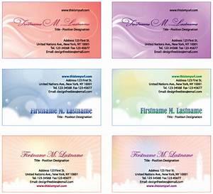 Free illustrator templates more personal business cards for Personal business cards templates free