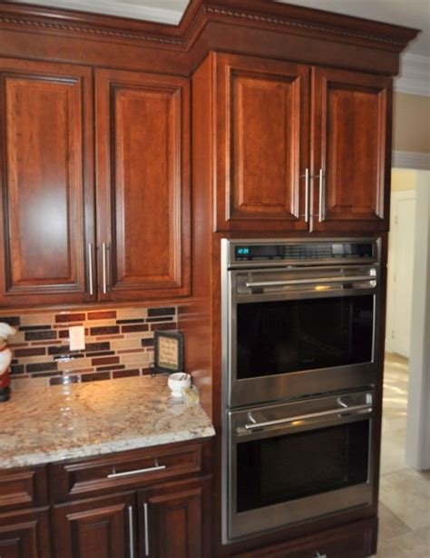 picture of cabinet in the kitchen wall ovens the tile kitchen 9097