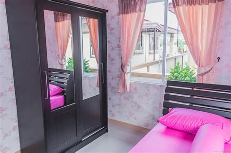 colorful  bedroom thai house  interior  pinoy