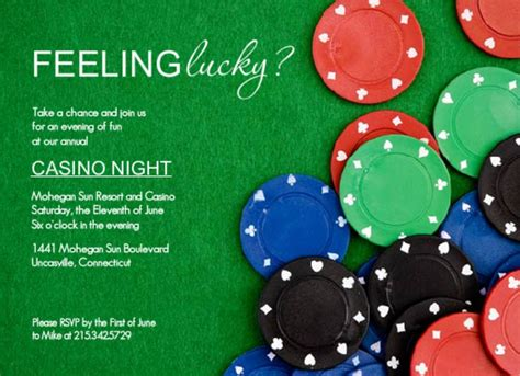 casino night invitation wording ideas  purpletrail