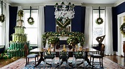 Vice President Joe Biden's home is decorated for Christmas ...