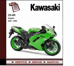 2007 - 2008 Kawasaki Ninja Zx-6r Zx6r Service Repair Manual