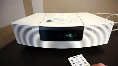 bose cd radio bose wave radio cd awrc 1p demo