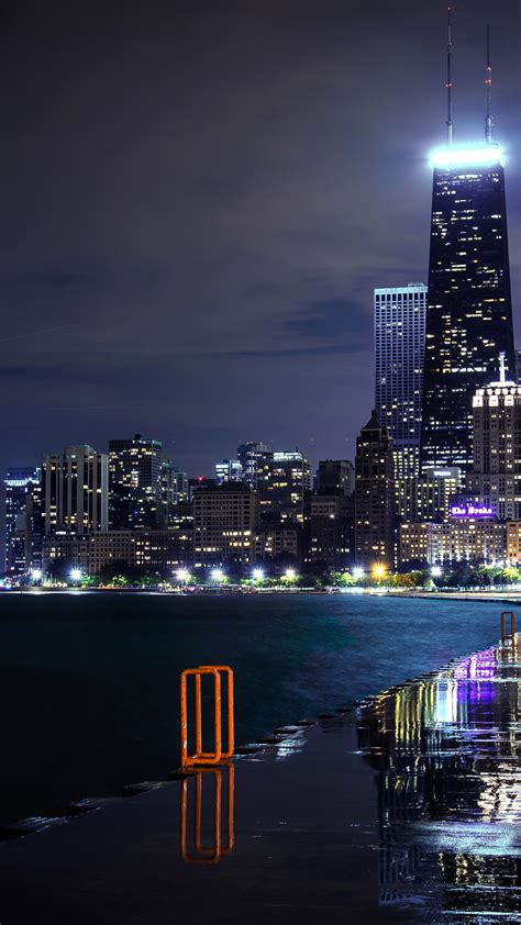 Chicago Wallpaper For Iphone X 8 7 6 Free Download On