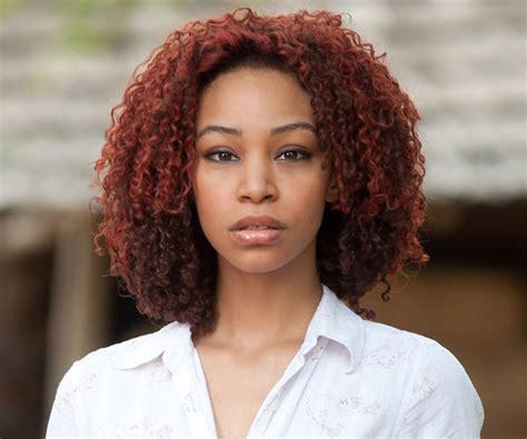 auburn hair color black women thzmub blues hairstyles ideas