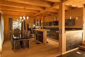 Decoration Interieur Chalet Bois : decoration interieur chalet simple amnagement symtrique ~ Zukunftsfamilie.com Idées de Décoration