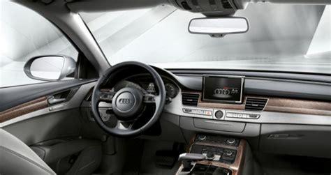 voiture audi a8 hybrid interieur actualite voitures