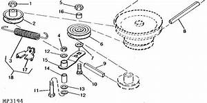 I Need A Mower Belt Diagram For A Deere Model 316  Can You