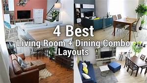 4, Best, Living, Room, Dining, Combo, Layouts