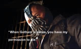 Batman Dark Knight Rises Bane Quotes