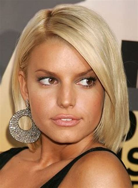 pictures  jessica simpson short hairstyles haircuts