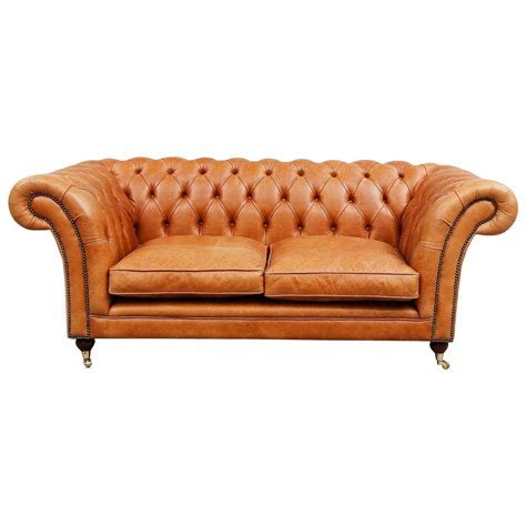 brown chesterfield sofa light brown leather chesterfield sofa for sale at 1stdibs