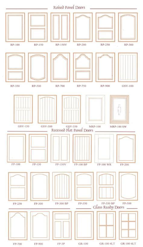 types of kitchen cabinet doors door styles quality cabinet doors inc 8627