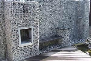 Zaun Mit Steinen Gefüllt Preis : gabionen kamin gabionenkorb ~ Whattoseeinmadrid.com Haus und Dekorationen