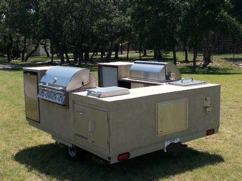 cer trailer kitchen ideas outdoor kitchen equipment on a trailer outdoor cooking pinterest