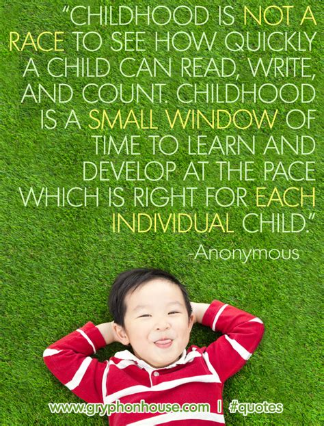 quotes  early childhood play quotesgram
