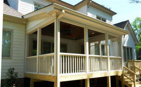 local porch screen room builders remodel   build