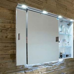 Spiegelschrank Mit Schiebetür : badezimmer schiebet r ~ Markanthonyermac.com Haus und Dekorationen