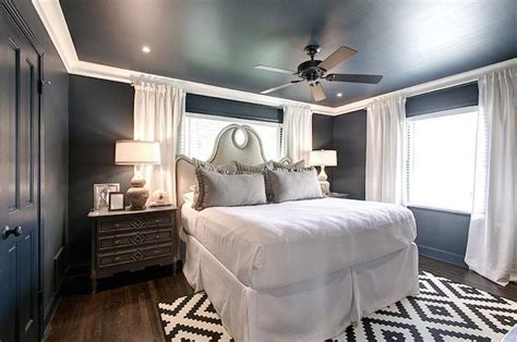 Blue And Gray Bedrooms-transitional-bedroom-har
