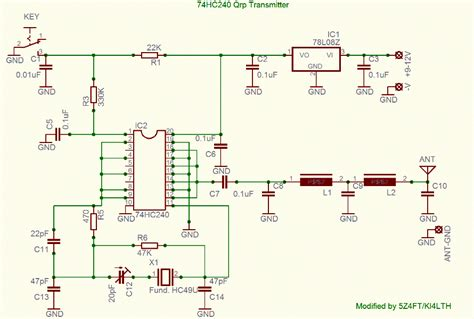 Radio Circuits Blog Qrp Transmitter