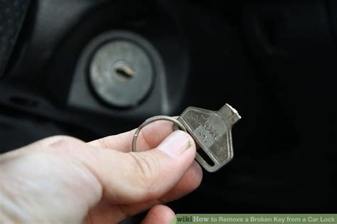 How To Remove A Broken Key From A Car Lock 9 Steps