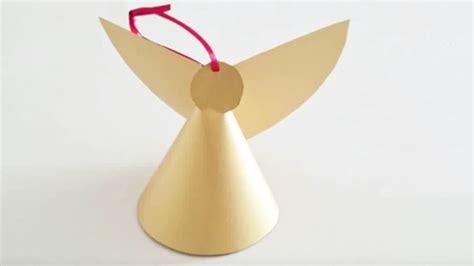 Ange De Noel à Fabriquer Bricolage De No 235 L Fabriquer Un Ange De No 235 L En Papier