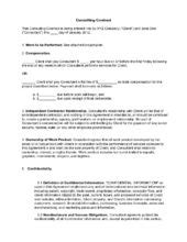 Staging Contract Template Free Independent Free Printable Independent Contractor Agreement Form